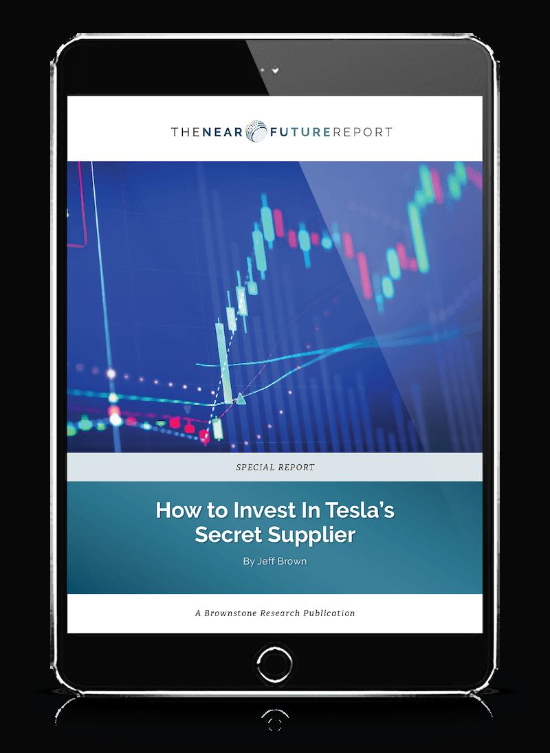 Jeff Brown Secret Tesla Supplier