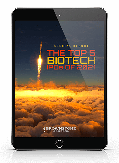 Jeff Brown's The Top 5 Biotech IPOs of 2021