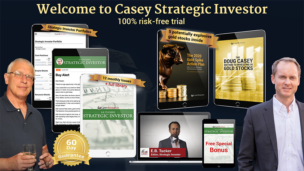 2020 Gold Spike Summit and the Doug Casey Strategic Investor